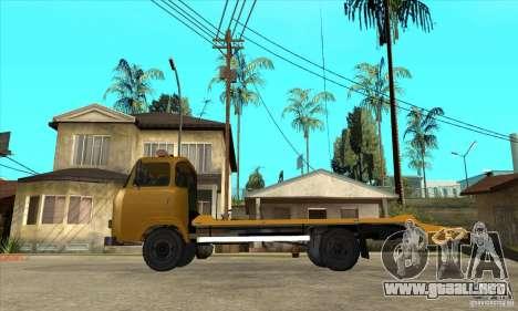 Camión de remolque Avia A31 para GTA San Andreas left