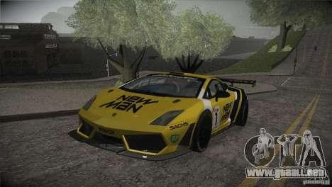 Lamborghini Gallardo LP560-4 GT3 para el motor de GTA San Andreas