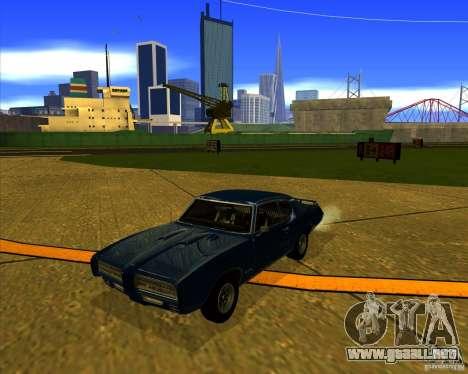 Pontiac GTO 1969 para visión interna GTA San Andreas