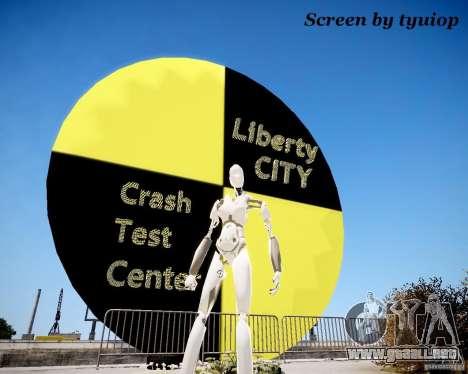 Crash Test Dummy para GTA 4