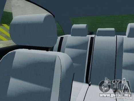 Audi A6 Police para la vista superior GTA San Andreas