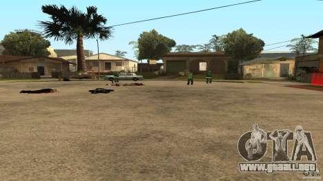 El Grove Street fue atacado por Ballas para GTA San Andreas quinta pantalla