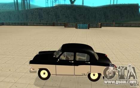 Relampago Negro para GTA San Andreas segunda pantalla