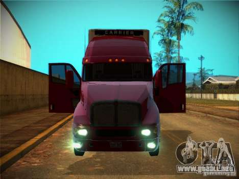 Kenworth T2000 v 2.5 para vista inferior GTA San Andreas