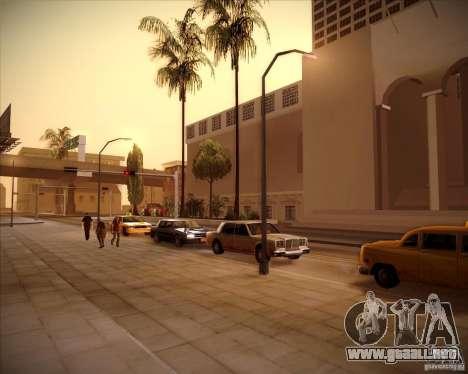Nuevas texturas del pasillo de ciudad para GTA San Andreas sucesivamente de pantalla