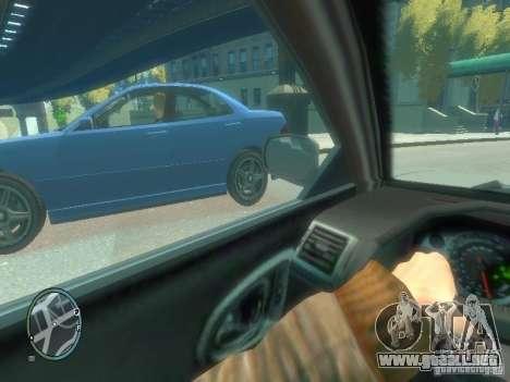 Tipo de coche para GTA 4 adelante de pantalla