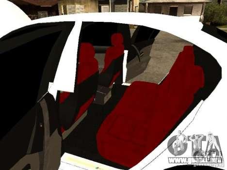 Bmw M5 Ls Ninja Stiil para visión interna GTA San Andreas