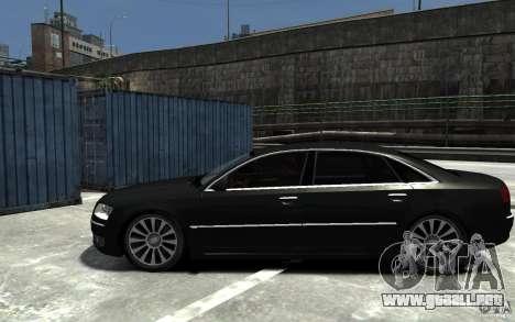 Audi A8L W12 Quattro para GTA 4 left