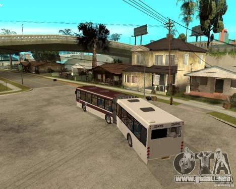 LIAZ 6213.20 para GTA San Andreas left