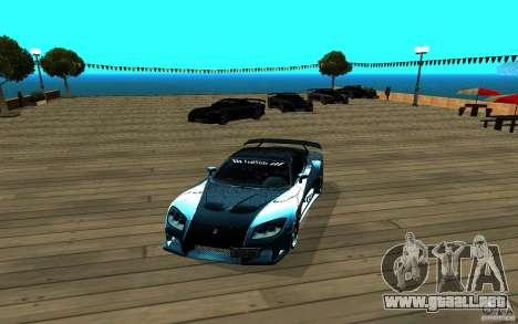 ENB para cualquier ordenador para GTA San Andreas tercera pantalla