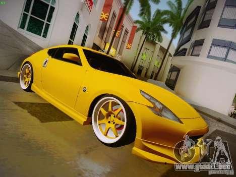 Nissan 370Z Fatlace para la visión correcta GTA San Andreas