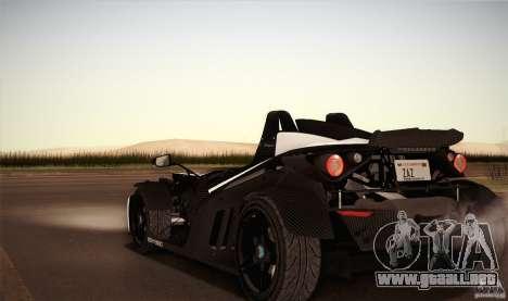 KTM-X-Bow para la vista superior GTA San Andreas