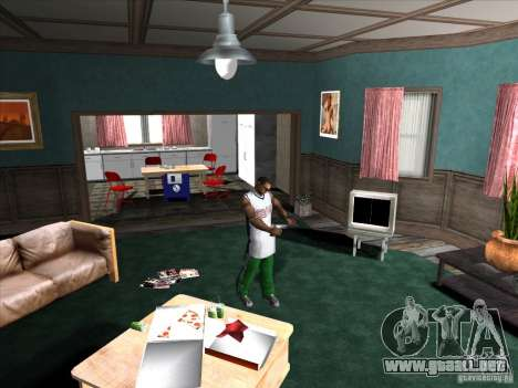 Atornille/Desatornille el silenciador para GTA San Andreas