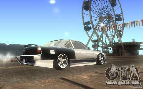Nissan Silvia S13 Odyvia para la visión correcta GTA San Andreas