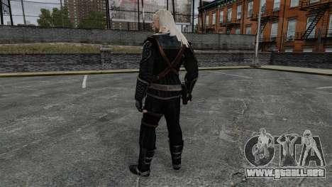 Geralt de Rivia v7 para GTA 4 tercera pantalla