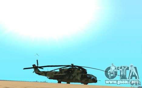 MI-24A para la visión correcta GTA San Andreas