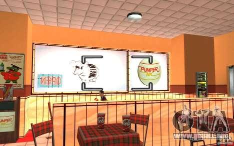 Pumper Nic Mod para GTA San Andreas quinta pantalla