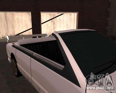 Taxi Cabrio para visión interna GTA San Andreas