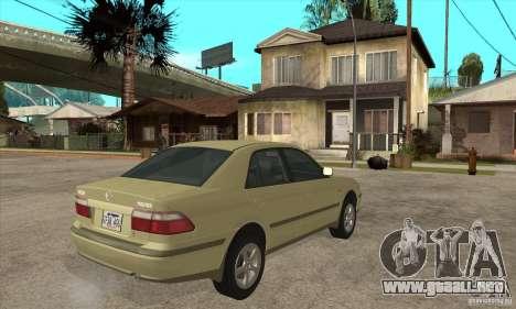 MAZDA 626 GF Sedan para la visión correcta GTA San Andreas