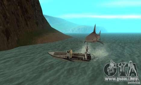 Shark Killer para GTA San Andreas tercera pantalla
