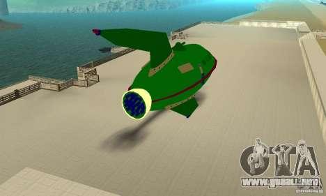Planet Express para la visión correcta GTA San Andreas