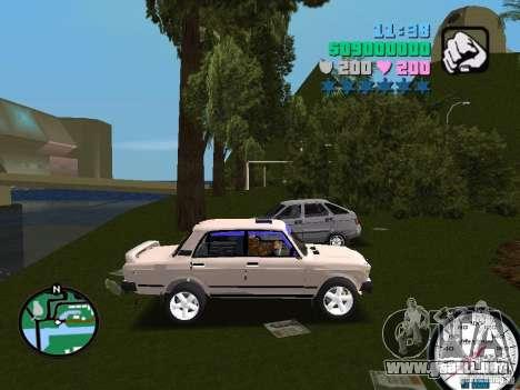 VAZ 2107 para GTA Vice City visión correcta