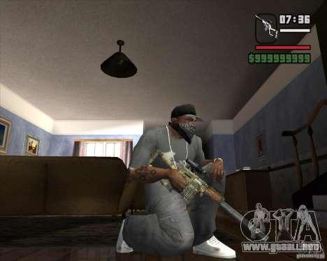 VSK74 para GTA San Andreas segunda pantalla