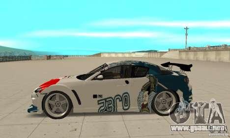 Mazda RX-8 NFS ProStreet para GTA San Andreas left