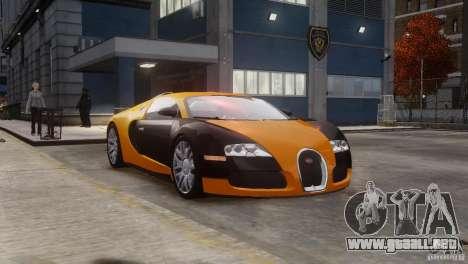 Bugatti Veyron 16.4 para GTA 4 vista interior