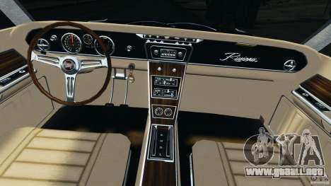 Buick Riviera 1966 v1.0 para GTA 4 vista hacia atrás