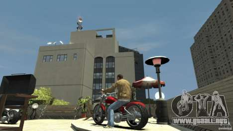 The Lost and Damned Bikes Lycan para GTA 4 Vista posterior izquierda