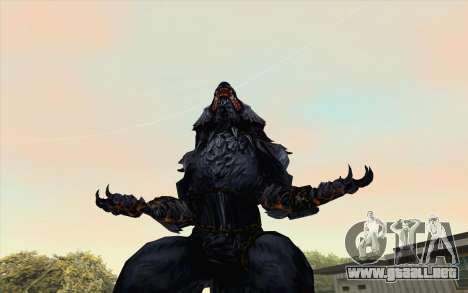 Werewolf Transformation V1.0 para GTA San Andreas segunda pantalla