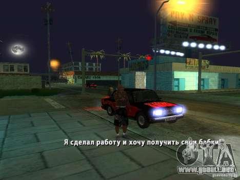 Killer Mod para GTA San Andreas séptima pantalla