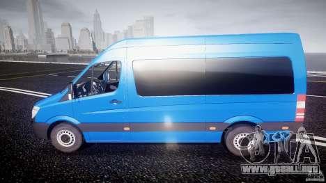 Mercedes-Benz ASM Sprinter Ambulance para GTA 4 left