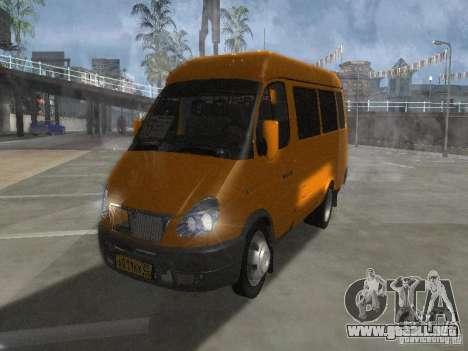 Taxi gacela 2705 para GTA San Andreas left