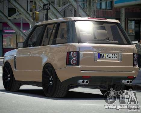 Land Rover SuperSharged para GTA 4 visión correcta