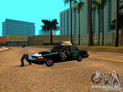 Ford Crown Victoria Taxi para la visión correcta GTA San Andreas