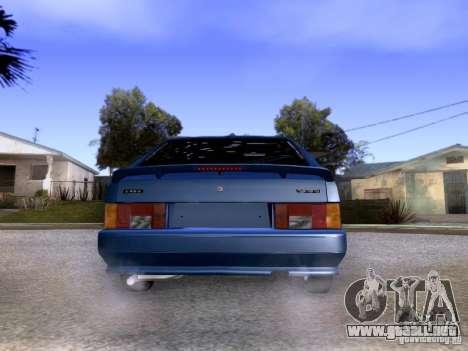 Stock 2113 VAZ para GTA San Andreas vista posterior izquierda