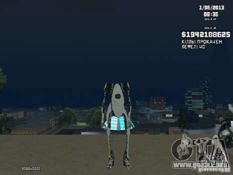P-body para GTA San Andreas segunda pantalla