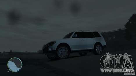 Mitsubishi Pajero Wagon para GTA 4 interior