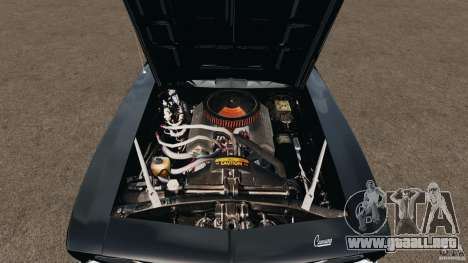 Chevrolet Camaro SS 350 1969 para GTA 4 vista lateral