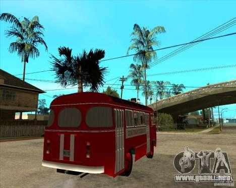 Bombero PAZ 672 para GTA San Andreas