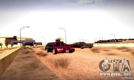 Drag Track Final para GTA San Andreas octavo de pantalla