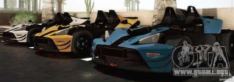 KTM-X-Bow para GTA San Andreas