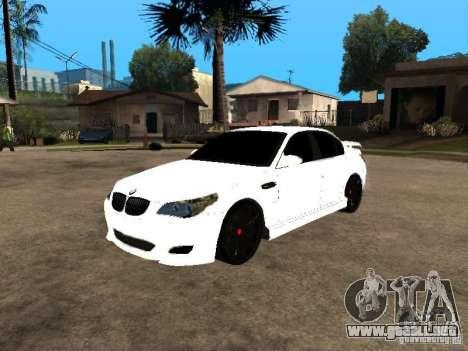 Bmw M5 Ls Ninja Stiil para GTA San Andreas