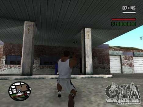 TMP para GTA San Andreas tercera pantalla
