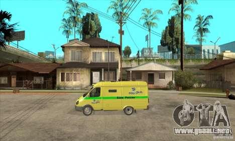 Gacela coleccionista para GTA San Andreas left