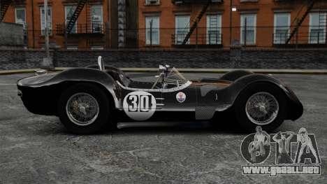 Maserati Tipo 60 Birdcage para GTA 4 left