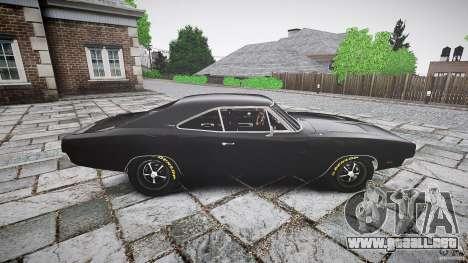 Dodge Charger RT 1969 para GTA 4 left