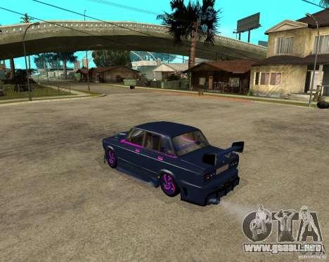 Vaz 2105 carrera callejera Tuning para GTA San Andreas